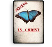 Freedom in Christ Canvas Print