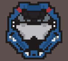 8 Bit Helmet (Silver Edition) by WeThinkItsCool