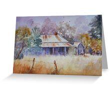 Abandoned Farmhouse Australia Greeting Card