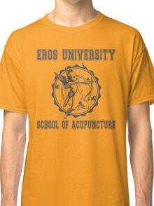 Eros University School of Acupuncture - Fictional College Shirt - Cupid Acupuncture School Classic T-Shirt