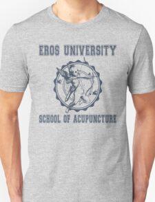 Eros University School of Acupuncture - Fictional College Shirt - Cupid Acupuncture School Unisex T-Shirt