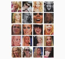 Many faces of Britney by lilolover