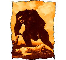 Monkey Love Photographic Print