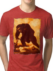 Monkey Love Tri-blend T-Shirt