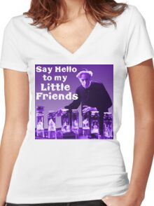 Pretorious Women's Fitted V-Neck T-Shirt