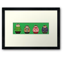 Big Bang Totoro Framed Print