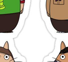Big Bang Totoro Sticker