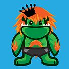 Blanka of Street Fighter by gloriousmonster
