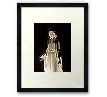 Mother Mary Comes To Me Framed Print