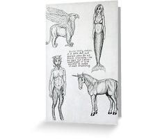 Sketchbook item 1 Greeting Card