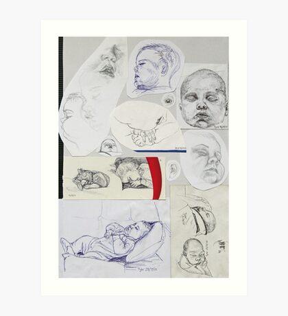 Sketch Book item 3 Art Print