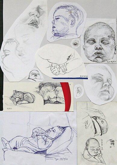 Sketch Book item 3 by Sylvia  Hollis
