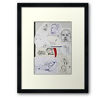 Sketch Book item 3 Framed Print