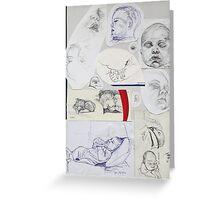 Sketch Book item 3 Greeting Card