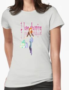 I Love Shopping11 Womens Fitted T-Shirt