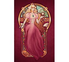 Princess Toadstool Nouveau Photographic Print