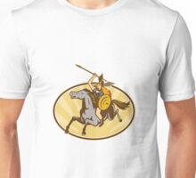 Valkyrie Riding Horse Retro Unisex T-Shirt