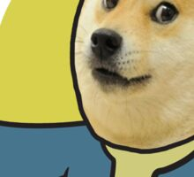 Doge is the new fallout Sticker