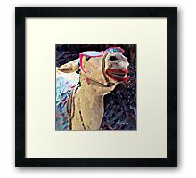 """ It's Tough To Be So Beautiful "" Framed Print"