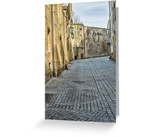 Empty Street Greeting Card