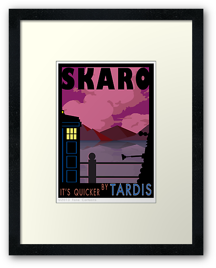 SKARO QUICKER BY TARDIS by ToneCartoons