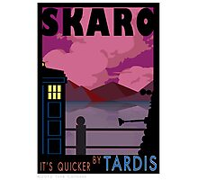 SKARO QUICKER BY TARDIS Photographic Print