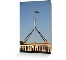 Good Morning Canberra Greeting Card