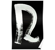 Macromannic Runes U Hur 003 Inverted Poster