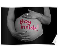 Boy inside! Poster