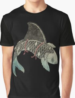 Koi Shark Fin Graphic T-Shirt