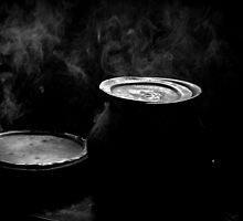 Boiling Pots by Vivek George Koshy