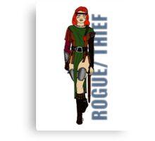 Rogue/Thief Canvas Print