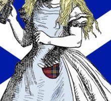 Alice Says Aye Scottish Independence T-Shirt Sticker