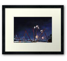 NYE 2012 Framed Print