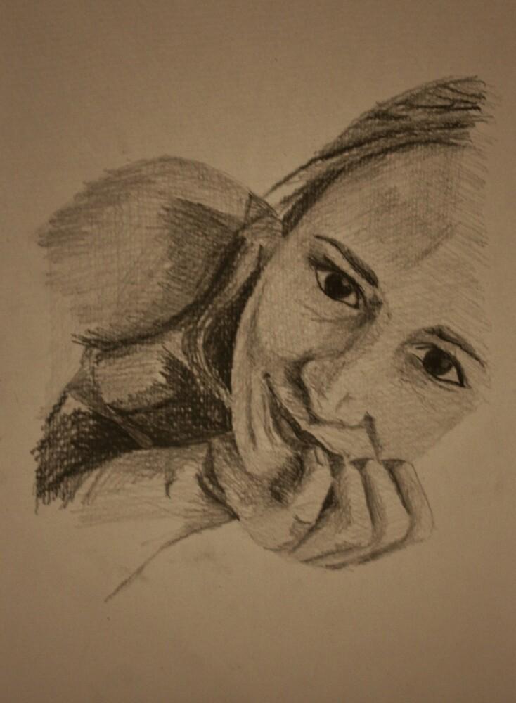 Self portrait by Rachel Clare
