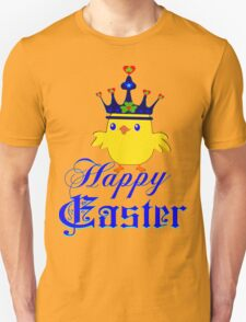 ㋡♥♫Happy Easter Blue Eyed Irish King Chicken Clothing & Stickers♪♥㋡ Unisex T-Shirt