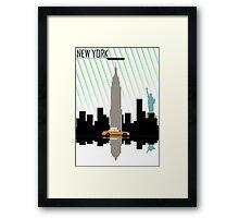 New York New York.  Framed Print