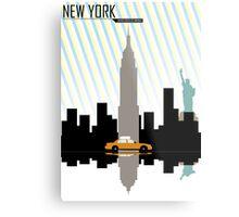 New York New York.  Metal Print