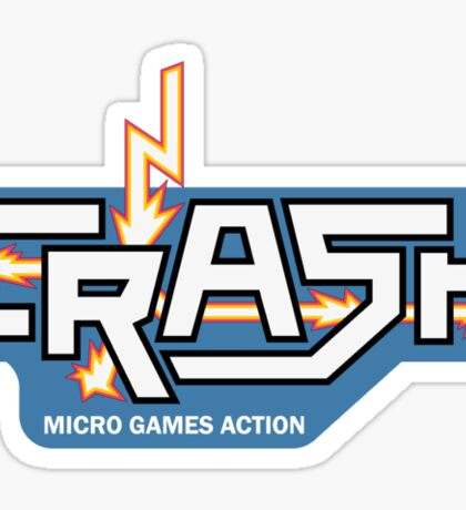 Crash - the Spectrum magazine Sticker
