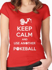 Use another pokeball Women's Fitted Scoop T-Shirt