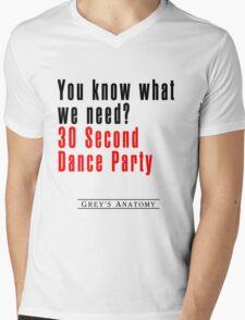 30 Seconds Dance Party Mens V-Neck T-Shirt