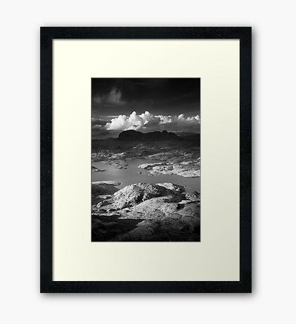 Suilven, Sutherland, Scotland. Framed Print