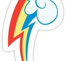 My little Pony - Rainbow Dash Cutie Mark V3 Sticker