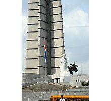Plaza de la Revolution Photographic Print