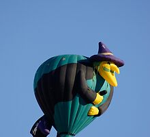 A Little Witchie Hot Air Balloon by Tina Hailey