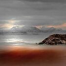 Muted Seamill Beach 1 by George Crawford