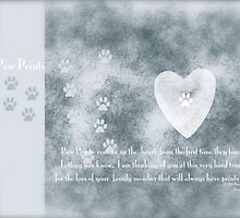 Paw Prints by DreamCatcher/ Kyrah Barbette L Hale