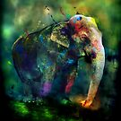Elephant colour by Amanda Ryan