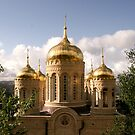 The Russian Church - Ein Karem, Jerusalem by Nira Dabush