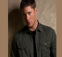 Jensen Ackles of Supernatural by Elizabeth Coats